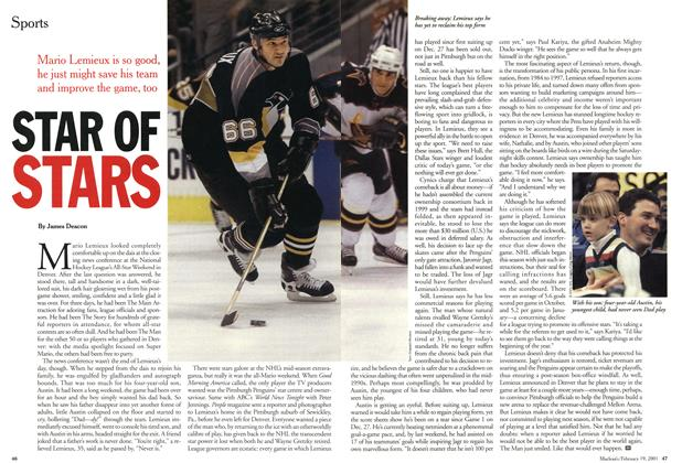 Article Preview: STAR OF STARS, February 2001 | Maclean's