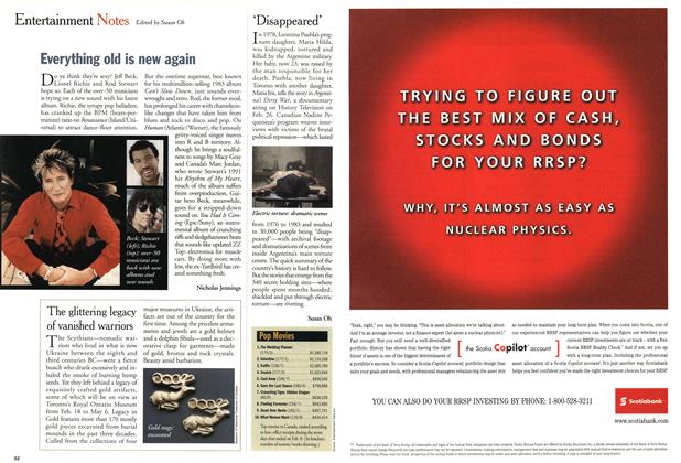 Article Preview: 'Disappeared', February 2001   Maclean's