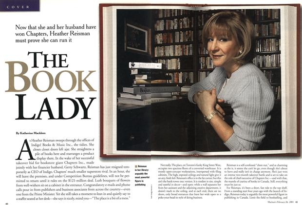 Article Preview: THE BOOK LADY, February 2001 | Maclean's