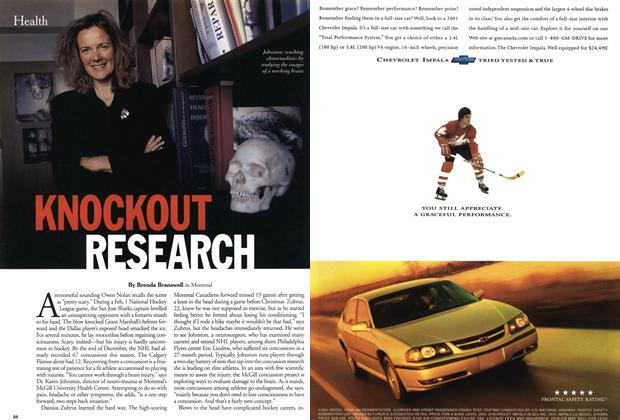 Article Preview: KNOCKOUT RESEARCH, February 2001 | Maclean's