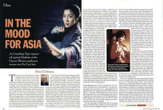 Article Preview: IN THE MOOD FOR ASIA, February 2001 | Maclean's