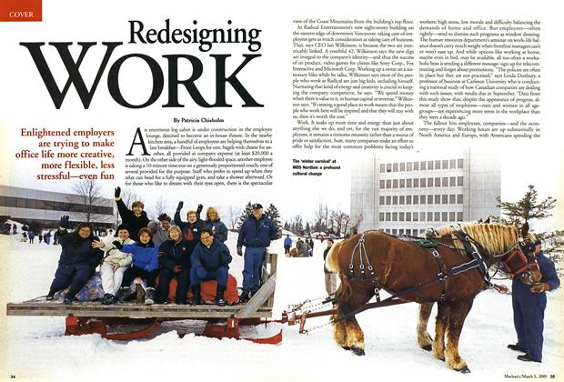 Article Preview: Redesigning WORK, March 2001 | Maclean's