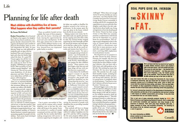 Article Preview: Planning for life after death, March 2001 | Maclean's