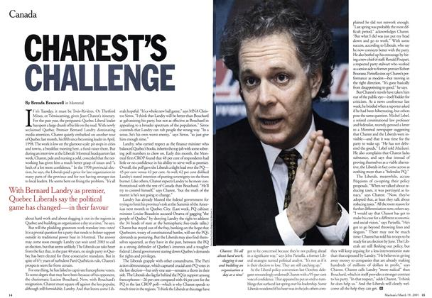 Article Preview: CHAREST'S CHALLENGE, March 2001 | Maclean's