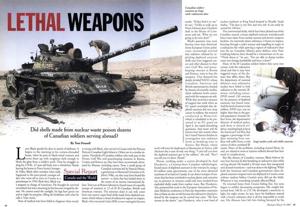 Article Preview: LETHAL WEAPONS, March 2001 | Maclean's