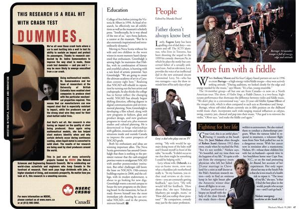 Article Preview: People, March 2001 | Maclean's
