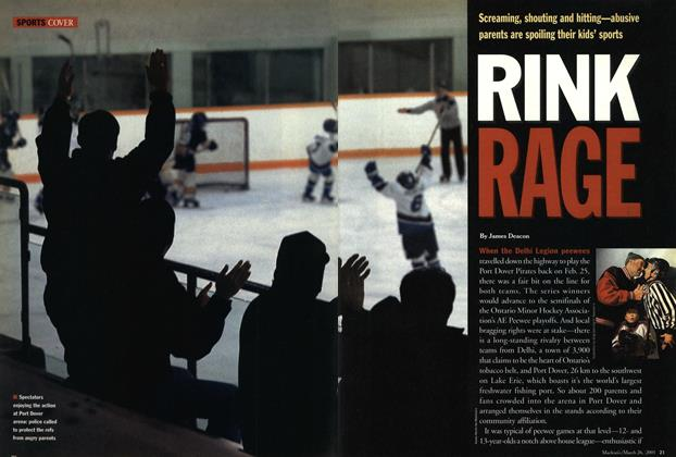 Article Preview: RINK RAGE, March 2001 | Maclean's