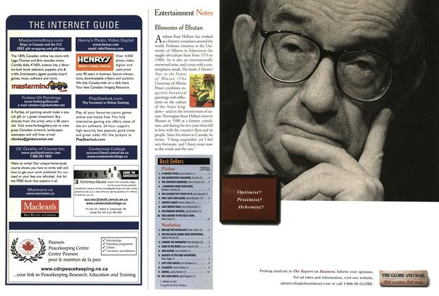 Article Preview: Best-Sellers, March 2001 | Maclean's