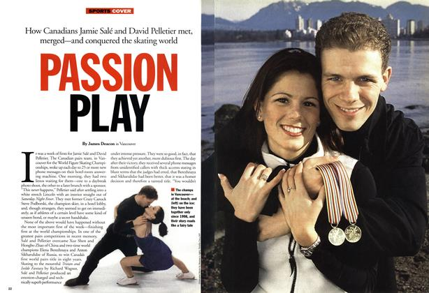 Article Preview: PASSION PLAY, April 2001   Maclean's