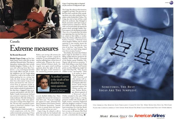 Article Preview: Extreme measures, April 2001 | Maclean's