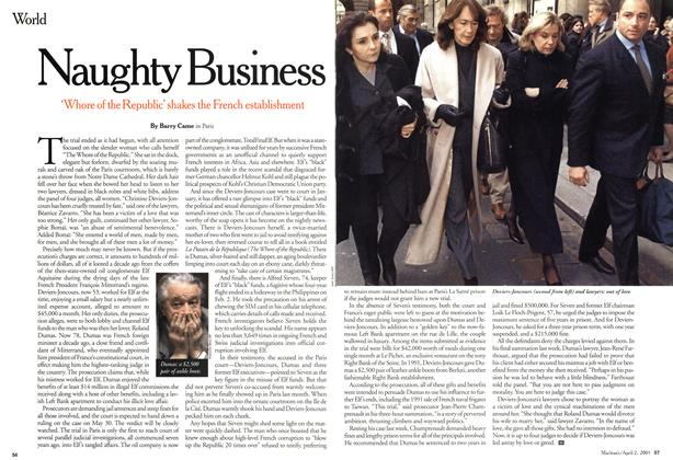 Article Preview: Naughty Business, April 2001 | Maclean's