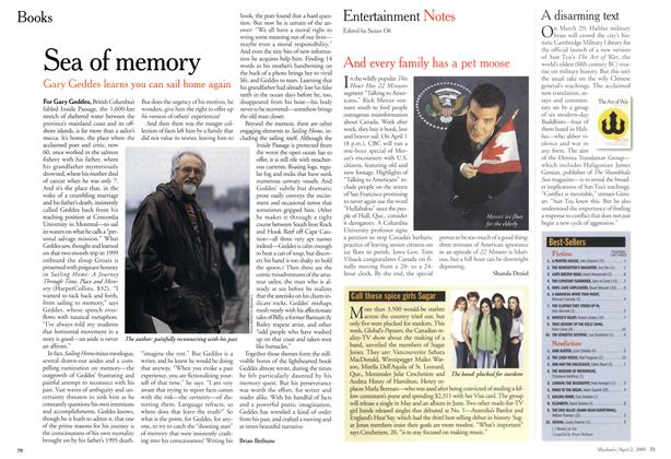 Article Preview: Sea of memory, April 2001 | Maclean's