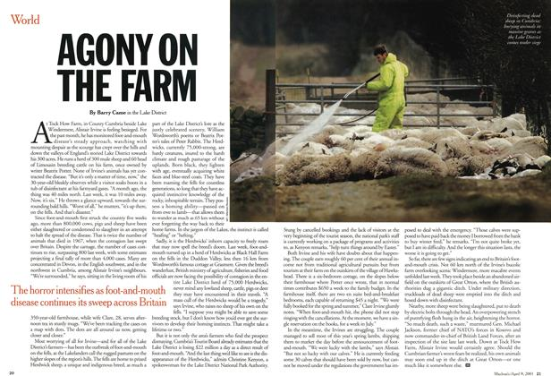 Article Preview: AGONY ON THE FARM, April 2001 | Maclean's