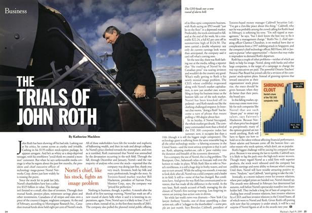 Article Preview: THE TRIALS OF JOHN ROTH, April 2001 | Maclean's