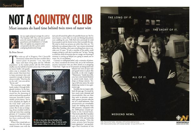 Article Preview: NOT A COUNTRY CLUB, April 2001 | Maclean's