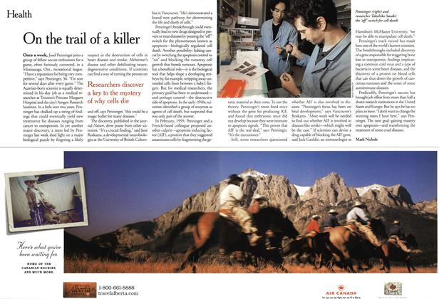 Article Preview: On the trail of a killer, April 2001 | Maclean's