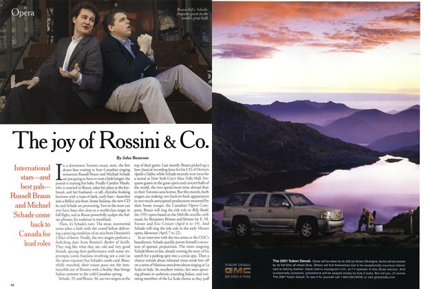 Article Preview: The joy of Rossini & Co., April 2001 | Maclean's