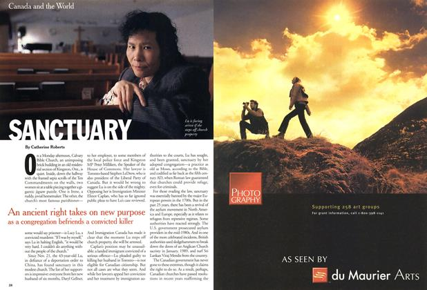 Article Preview: SANCTUARY, April 2001 | Maclean's