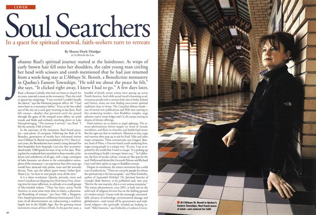Article Preview: Soul Searchers, April 2001 | Maclean's