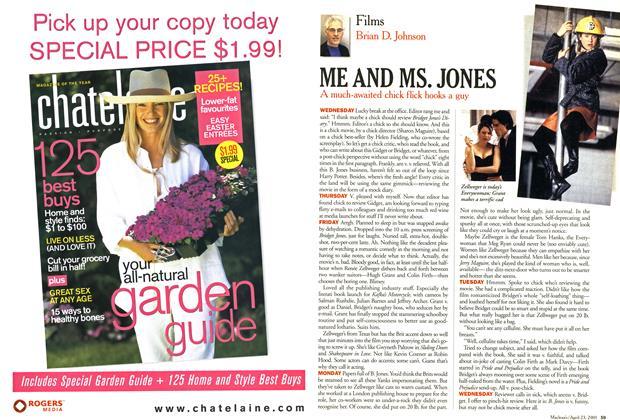Article Preview: ME AND MS. JONES, April 2001 | Maclean's