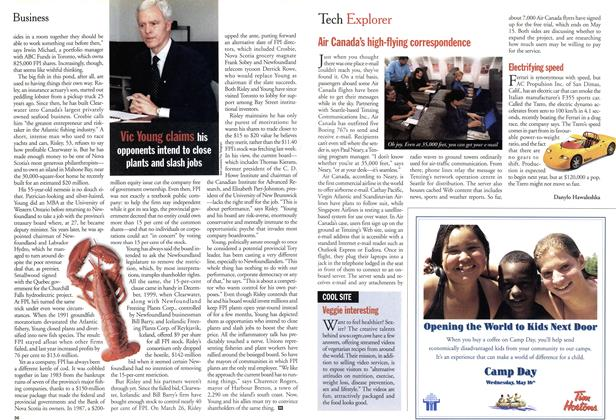 Article Preview: Tech Explorer, April 2001 | Maclean's
