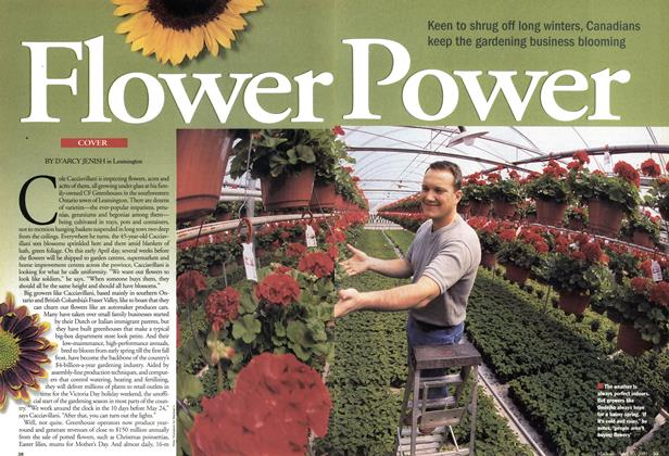Article Preview: Flower Power, April 2001 | Maclean's