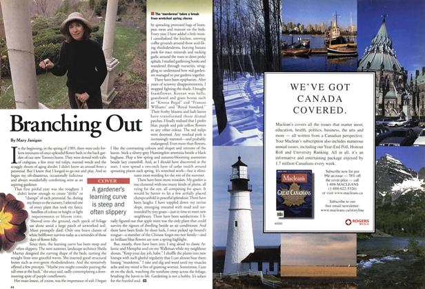 Article Preview: Branching Out, April 2001 | Maclean's