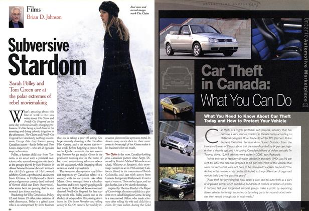Article Preview: Subversive Stardom, April 2001 | Maclean's