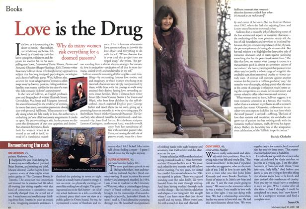 Article Preview: Love is the Drug, April 2001 | Maclean's