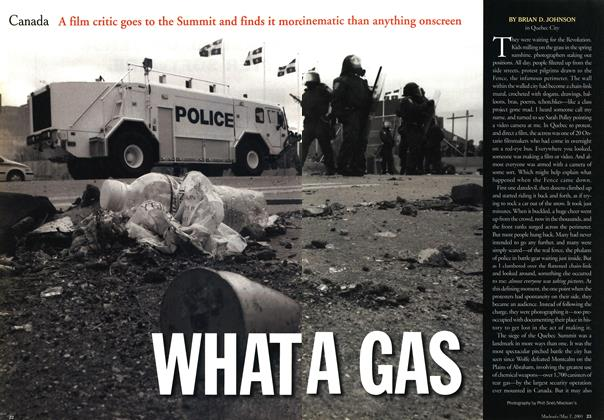Article Preview: WHAT A GAS, May 2001 | Maclean's