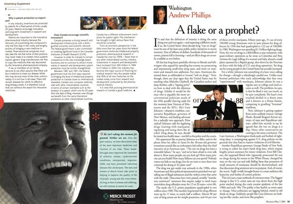 Article Preview: A flake or a prophet?, May 2001 | Maclean's
