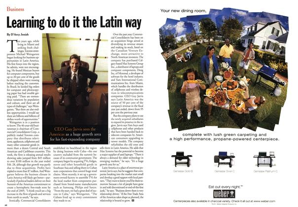 Article Preview: Learning to do it the Latin way, May 2001 | Maclean's