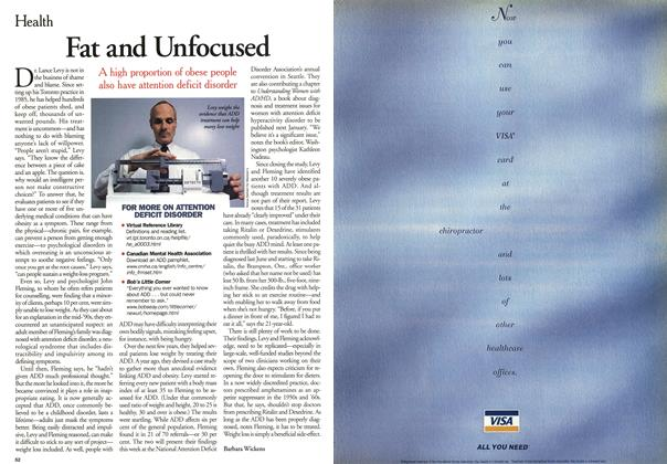 Article Preview: Fat and Unfocused, May 2001 | Maclean's