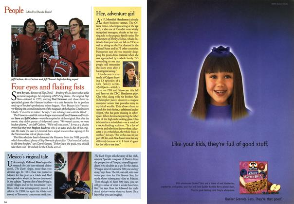 Article Preview: People, May 2001 | Maclean's