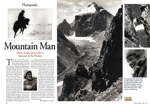 Article Preview: Mountain Man, May 2001 | Maclean's
