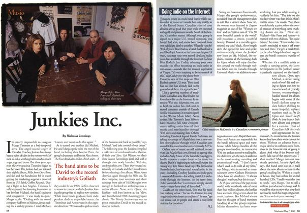 Article Preview: Junkies Inc., May 2001 | Maclean's