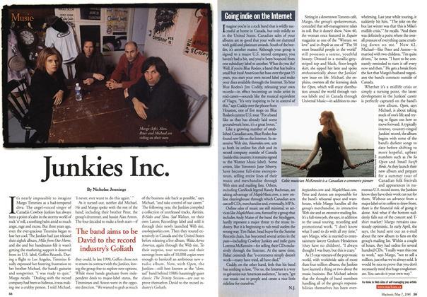 Article Preview: Junkies Inc., May 2001 | Maclean's