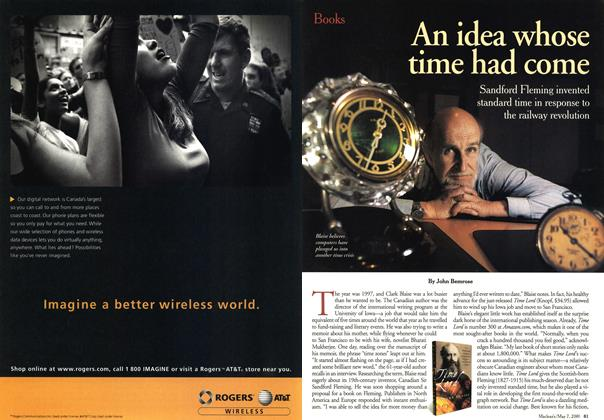 Article Preview: An idea whose time had come, May 2001 | Maclean's