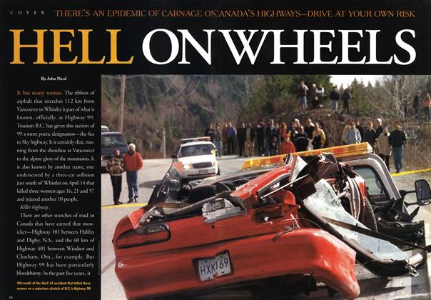 Article Preview: HELL ON WHEELS, May 2001 | Maclean's