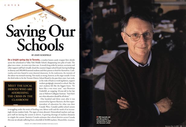 Article Preview: Saving Our Schools, May 2001 | Maclean's