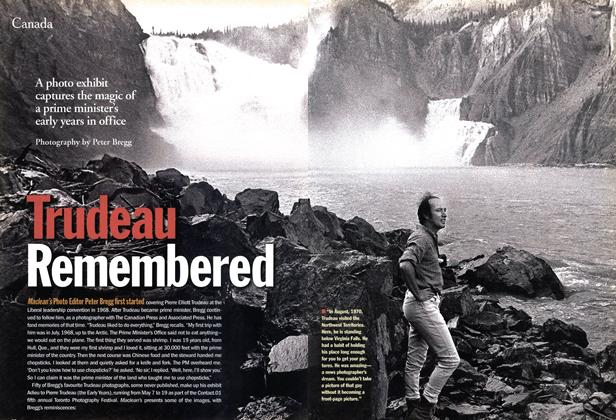 Article Preview: Trudeau Remembered, May 2001 | Maclean's