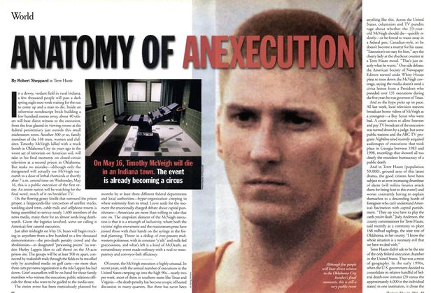 Article Preview: ANATOMY OF AN EXECUTION, May 2001 | Maclean's