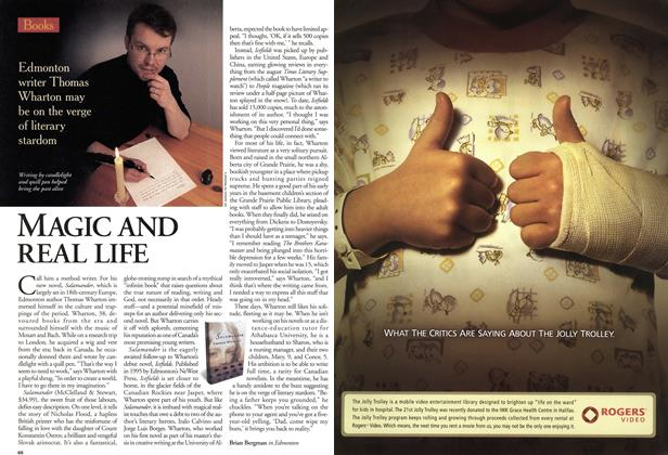 Article Preview: MAGIC AND REAL LIFE, May 2001 | Maclean's