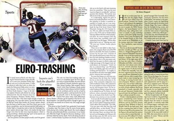 Article Preview: EURO-TRASHING, May 2001 | Maclean's