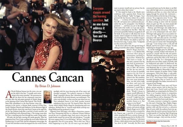 Article Preview: Cannes Cancan, May 2001 | Maclean's