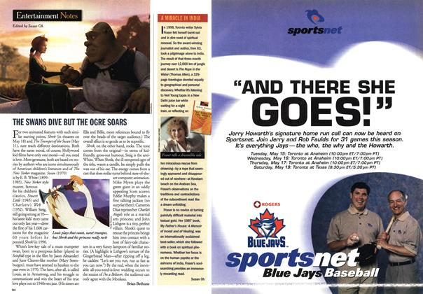 Article Preview: Entertainment Notes, May 2001 | Maclean's