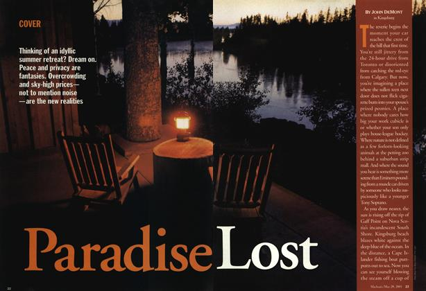 Article Preview: Paradise Lost, May 28,2001 2001 | Maclean's