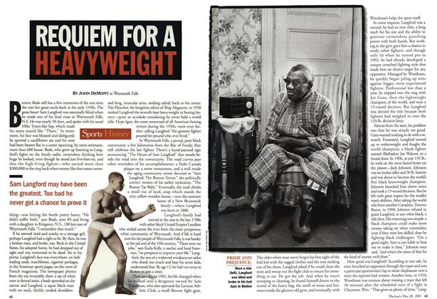 Article Preview: REQUIEM FOR A HEAVYWEIGHT, May 28,2001 2001 | Maclean's