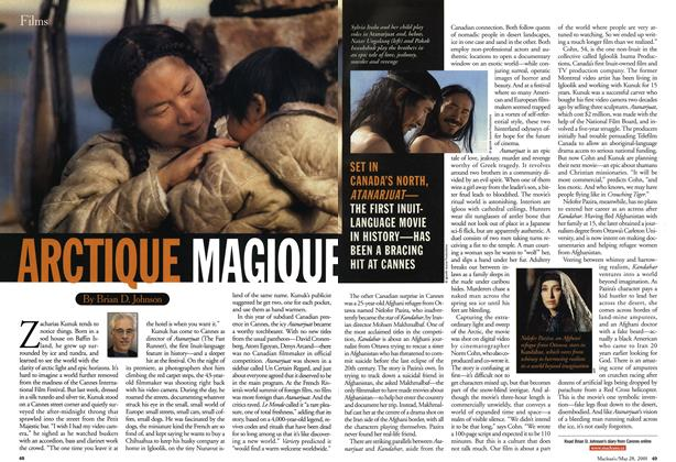 Article Preview: ARCTIQUE MAGIQUE, May 28,2001 2001 | Maclean's