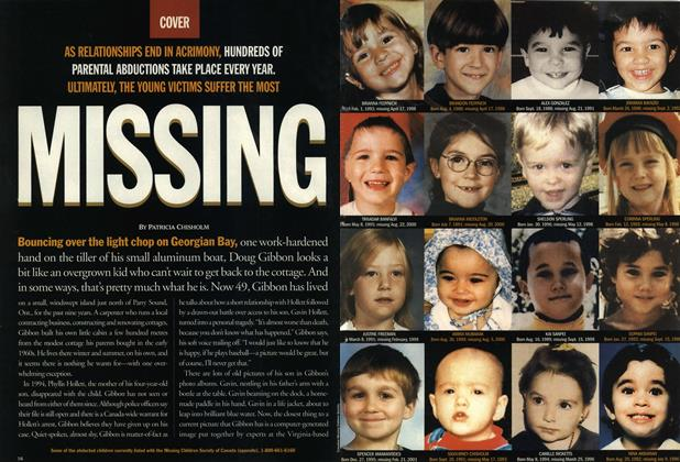 Article Preview: MISSING, June 2001 | Maclean's